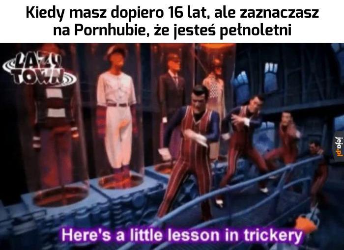Mała lekcja przebiegłości