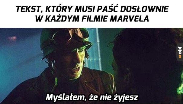 W każdym filmie Marvela