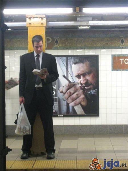 Miejsce pułapka w metrze