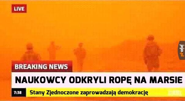 Mars potrzebuje demokracji!
