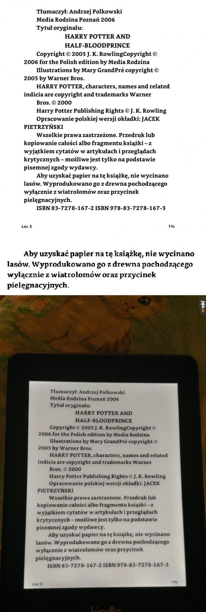 Ebook z drewna