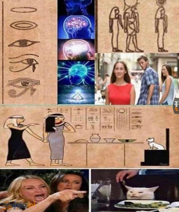 Egipt potrafił w memy