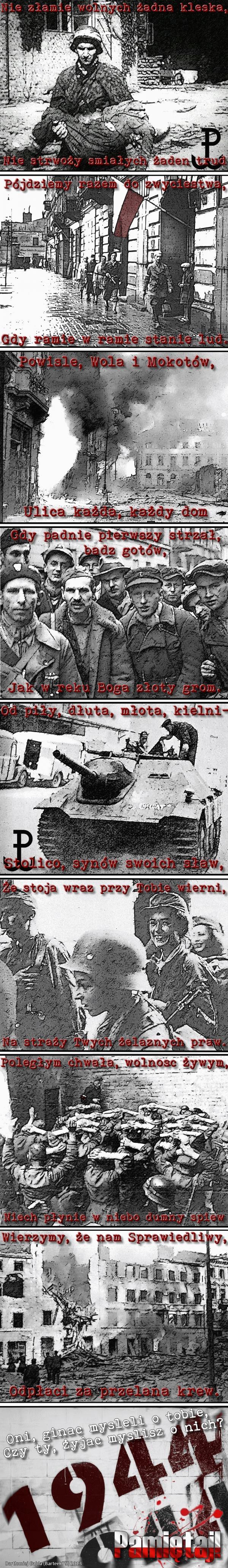 Powstanie warszawskie - Pamiętaj!
