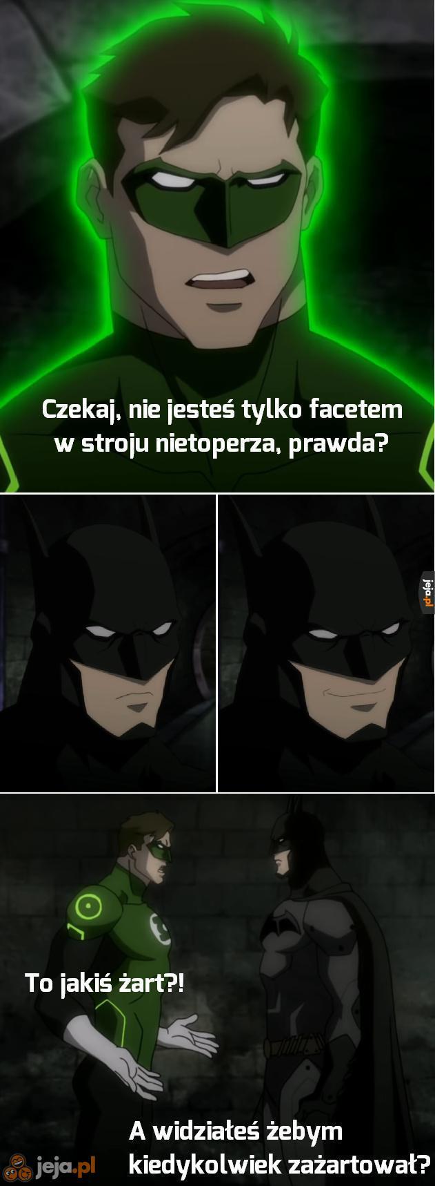 Batman nigdy nie żartuje