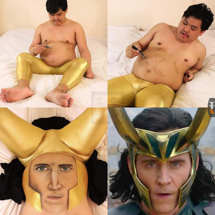 Mistrz taniego cosplayu powrócił