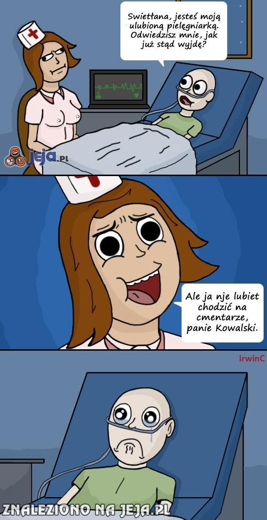 Ah, te ukraińskie pielęgniarki...