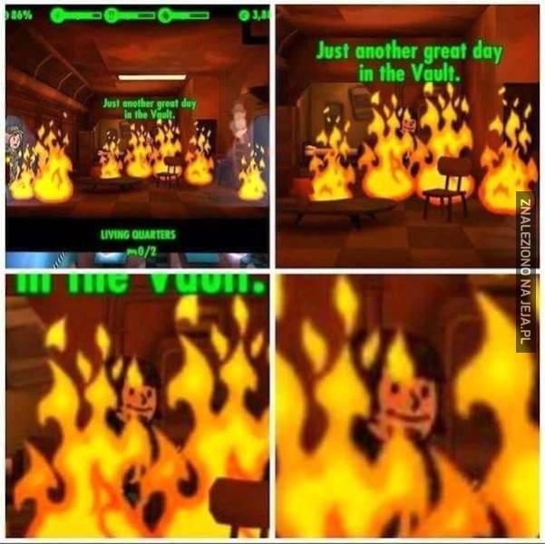 O, jaki piękny pożar...