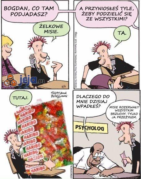 """Cięta"" riposta na szkolne teksty"