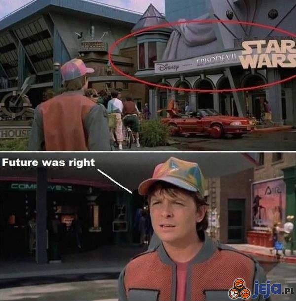 Powrót do przyszłości to przewidział!