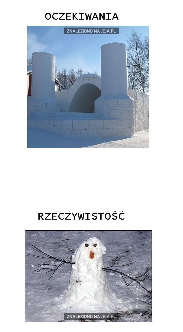 Śnieżne budowle