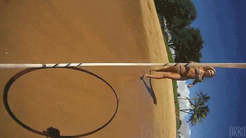 Kamerka na hula-hop