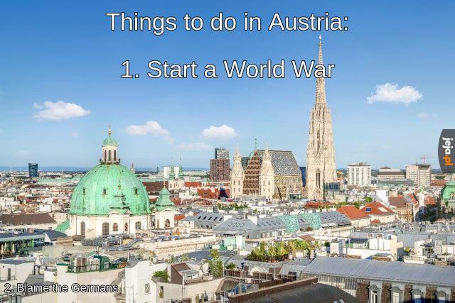 Rzeczy do zrobienia w Austrii
