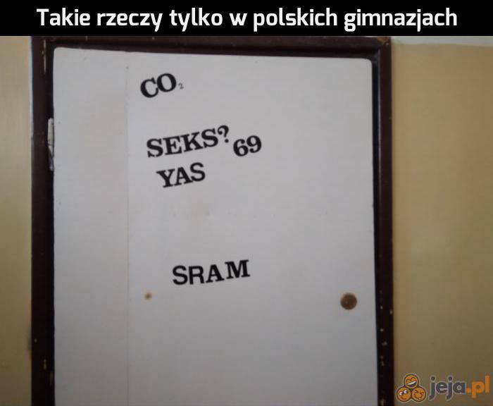 W polskich co?
