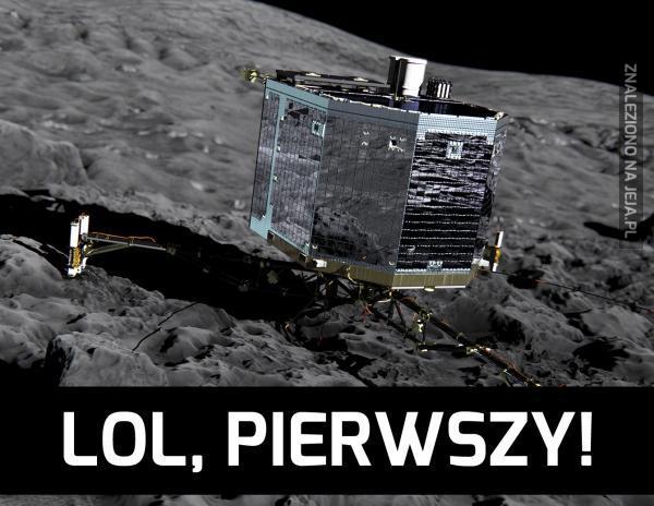 Pierwsze lądowanie na komecie
