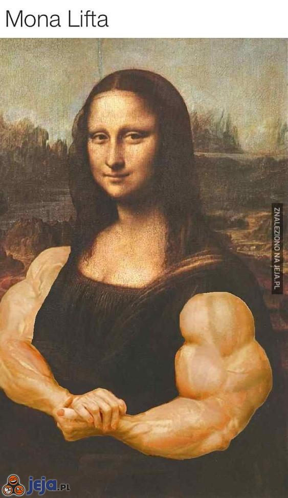 Mona Lisa pakuje
