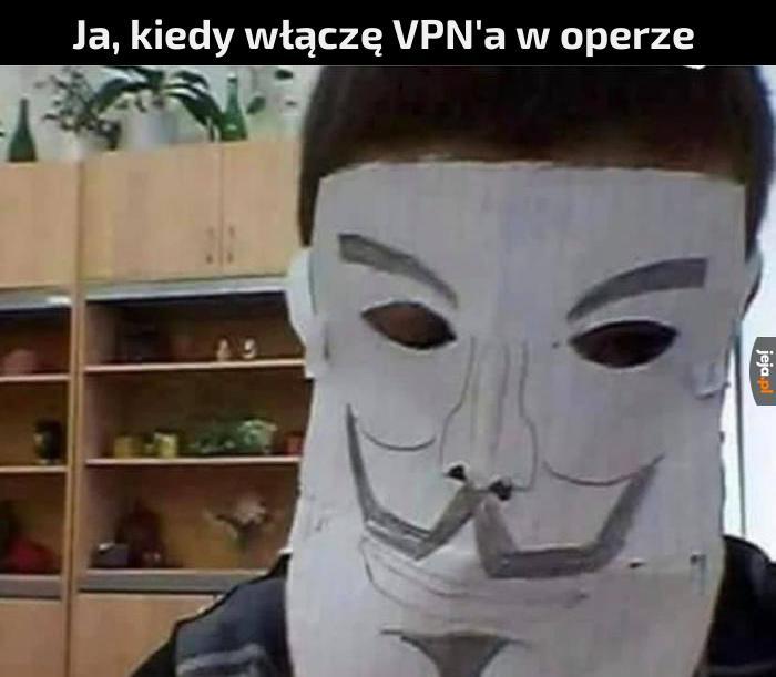 To nie VPN, to po prostu wbudowany serwer proxy