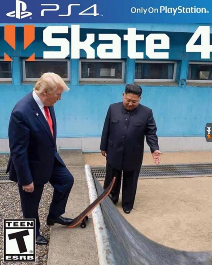 Dawaj Trump, to już się kameruje!