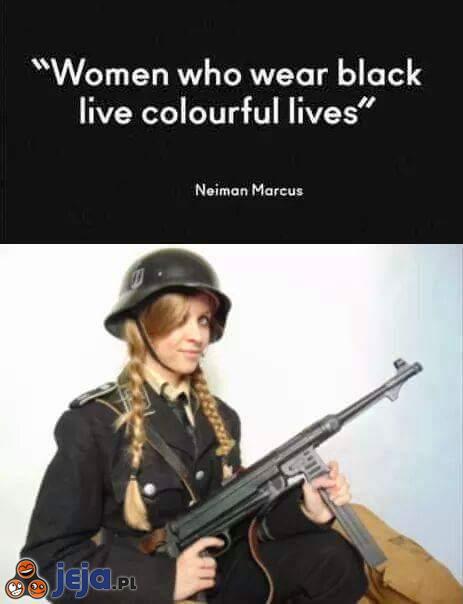 Dziewczyna w czerni