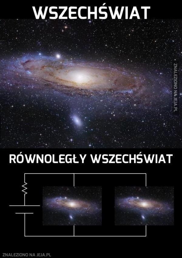 Tymczasem w równoległym wszechświecie...