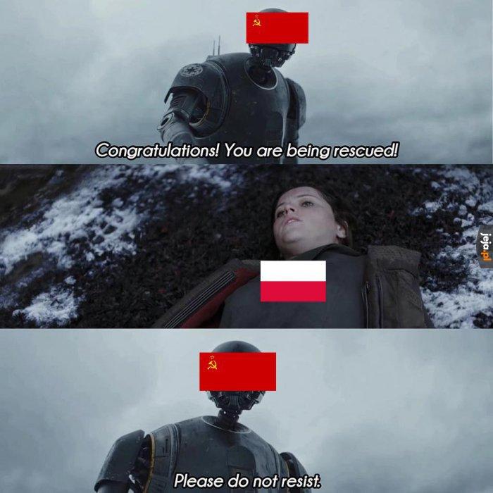 """""""Wyzwolenie"""" przez ZSRR w skrócie"""