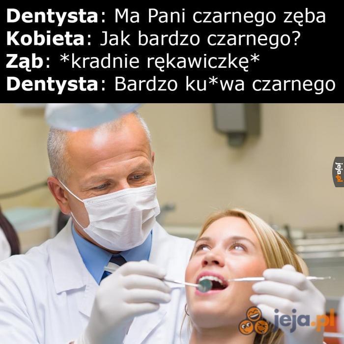Czarny ząb