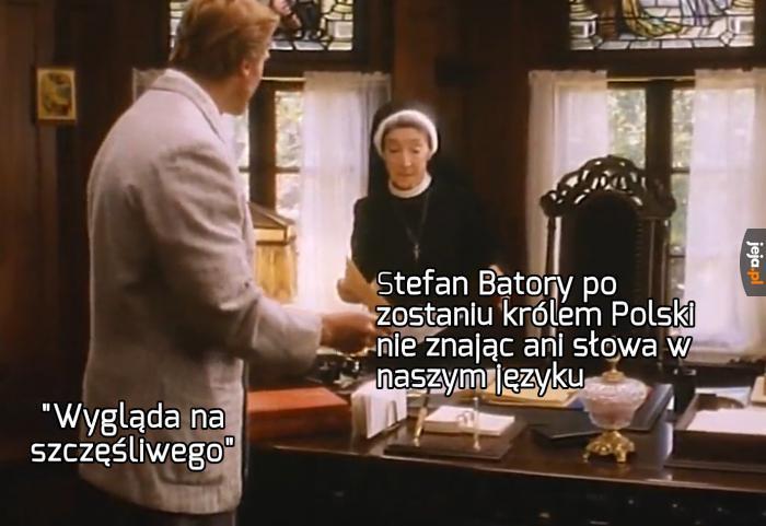 Ale za to po węgiersku też nie mówił