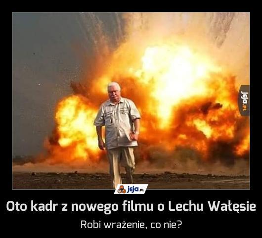Oto kadr z nowego filmu o Lechu Wałęsie