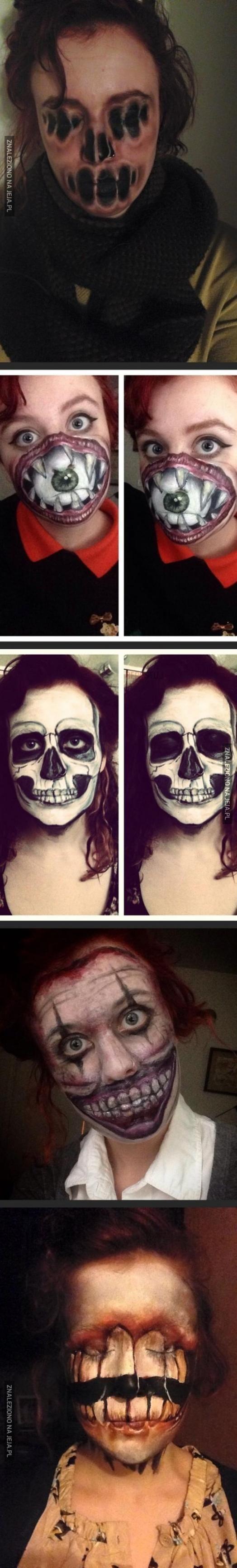 Potworne makijaże