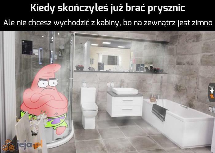 Jeszcze trochę ciepłej wody...