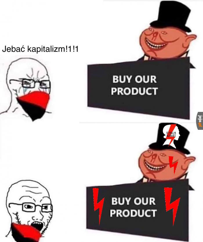 Kapitalizm to taki dobry ustrój