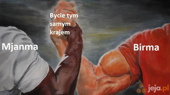 Dwie nazwy, jeden kraj