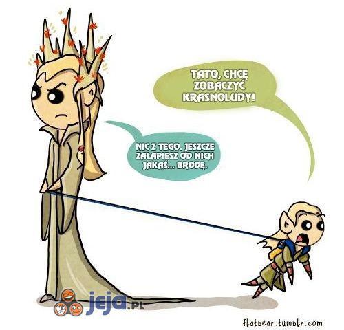 Legolas miał ciężkie dzieciństwo