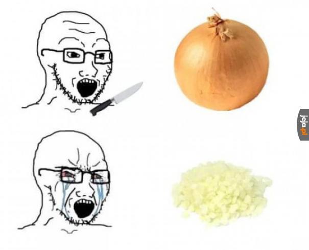 Tak działa krojenie cebuli