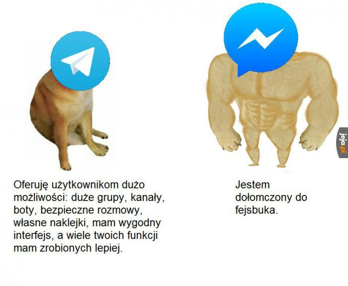 Telegram vs Messenger