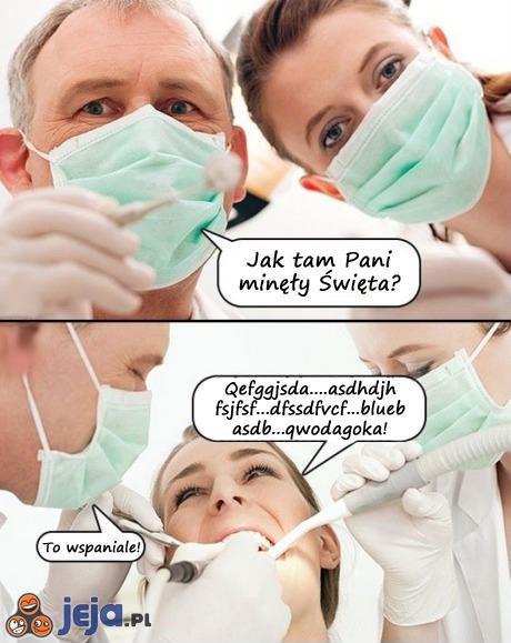 Rozmowa u dentysty