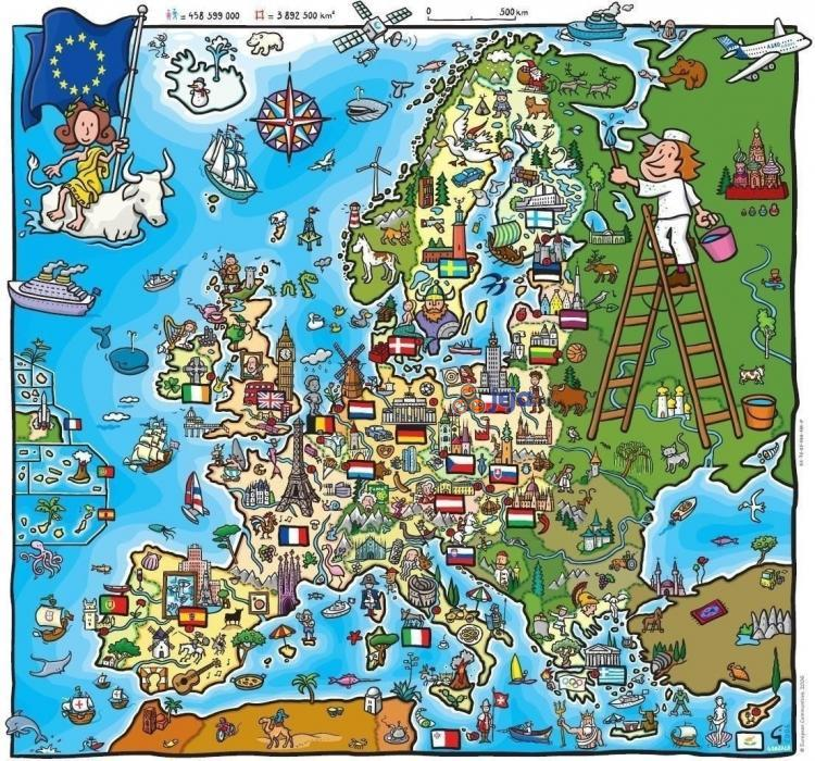 Europa i jej zabytki