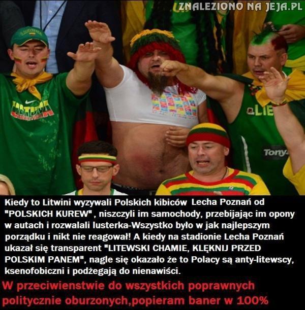 Incydenty polsko-litewskie podczas meczy