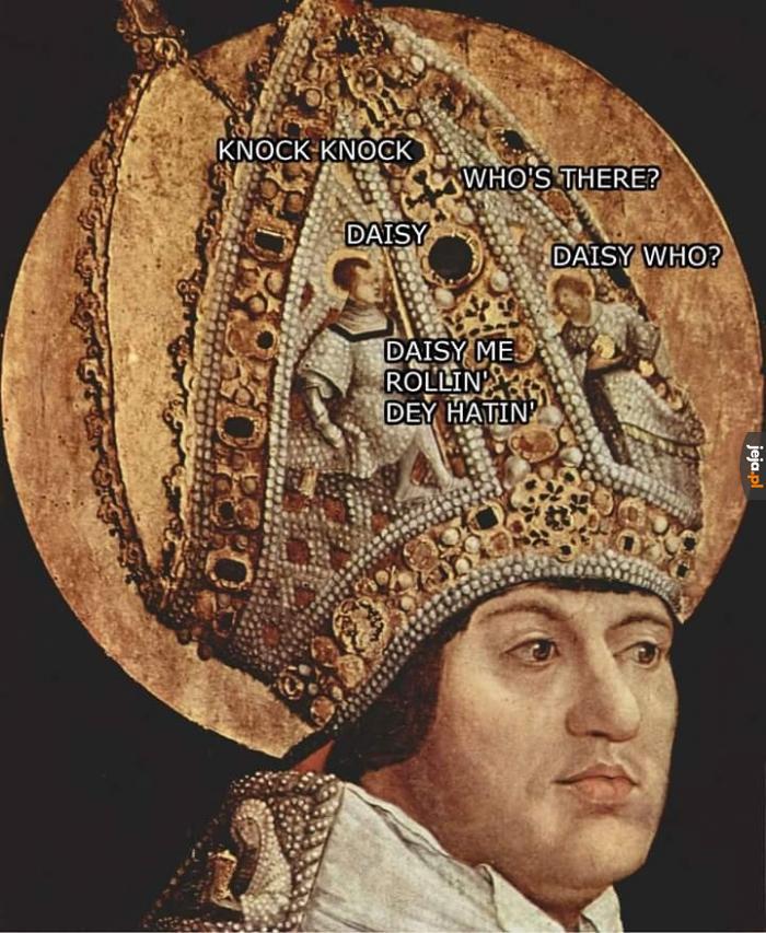 Tymczasem w głowie kardynała
