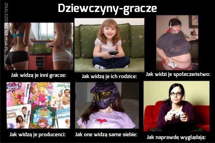 """Obalamy mit """"dziewczyny-gracza""""!"""