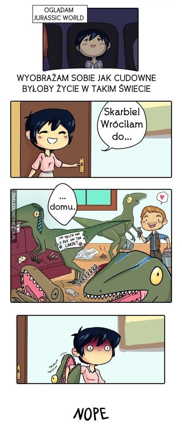 Jurassic World w prawdziwym życiu