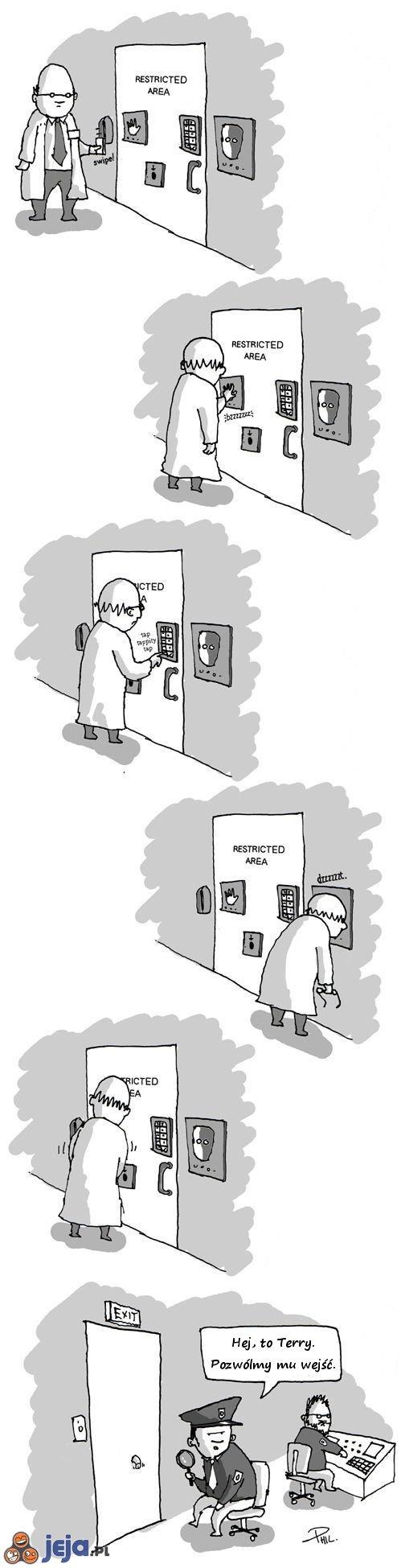 Nieupoważnionym wstęp wzbroniony