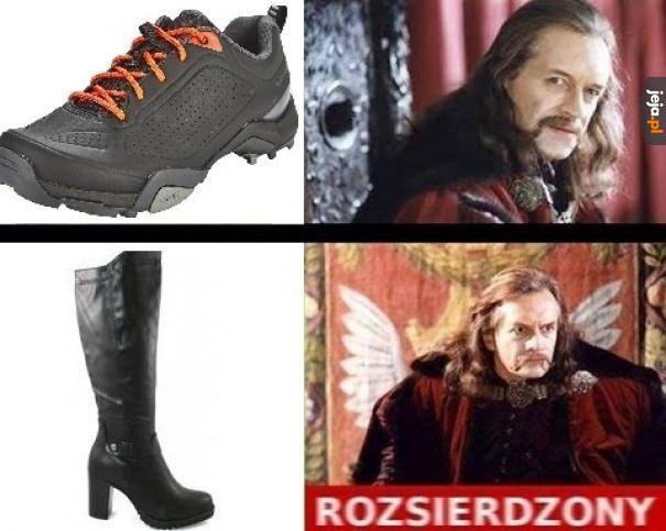 Nie każde obuwie można tolerować