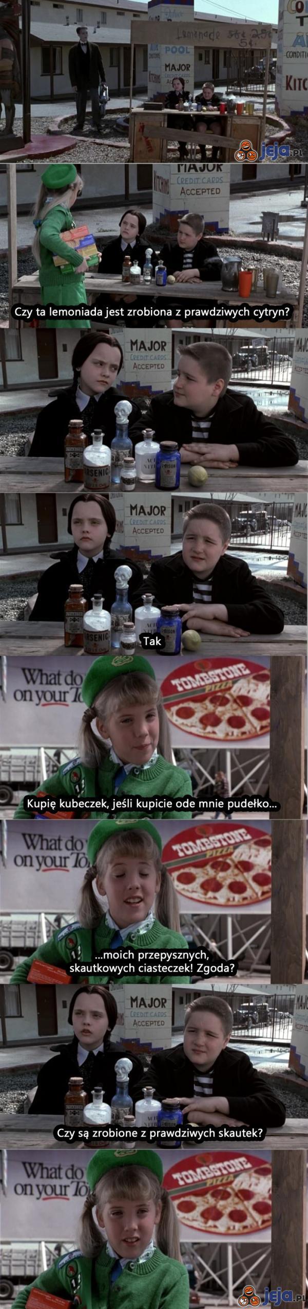 Rodzina Addamsów i ciasteczka