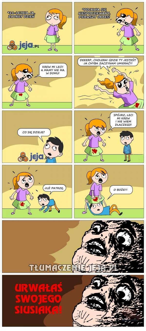 Problemy małych dziewczynek...