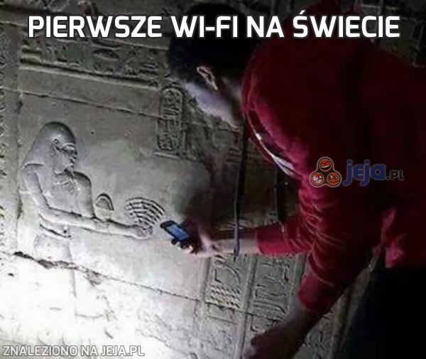 Pierwsze wi-fi na świecie