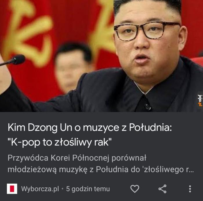 Niejedna osoba pewnie zgodzi się z Kimem