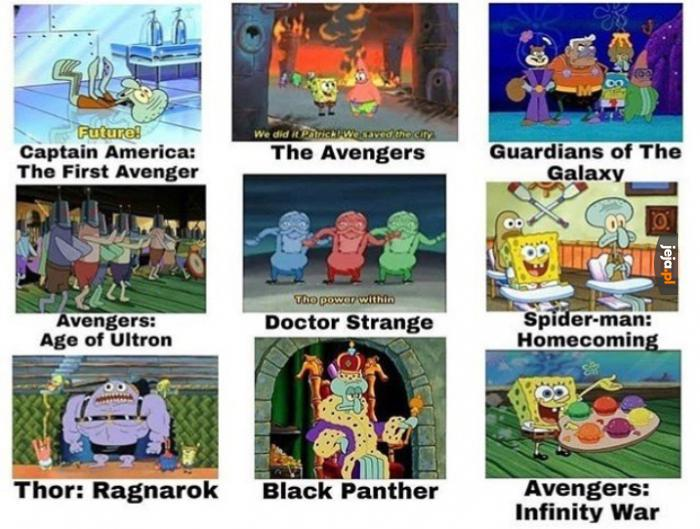Marvel według Spongeboba
