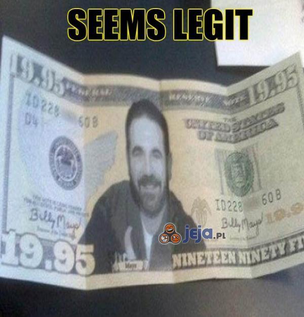 Banknot na 19,95