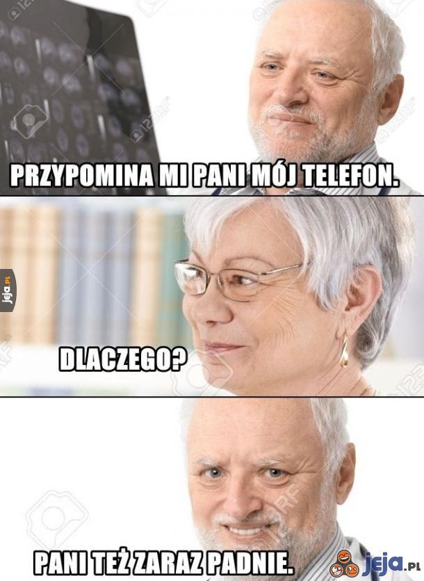 Babcia jak telefon