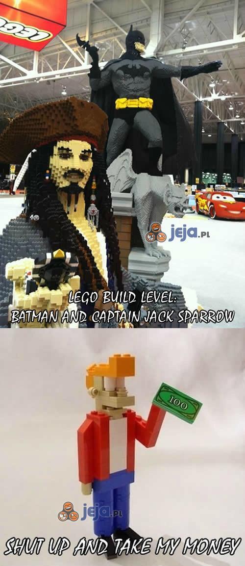 Batman i Jack Sparrow z Lego